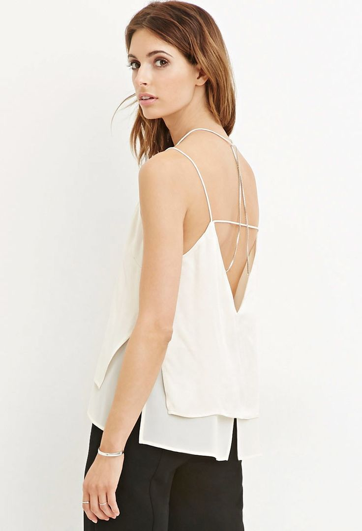 chiffon layered blouse forever 21 canada fashion
