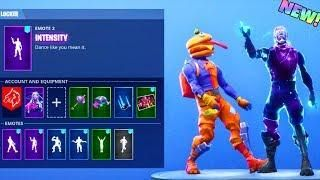 New Intensity Emote Other Dances With Galaxy Beef Boss Skin