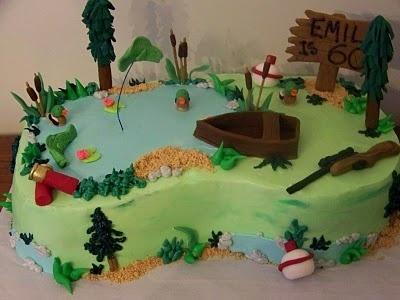 Fishing / hunting cake