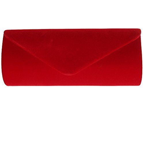 New Trending Clutch Bags: Fashion Road Evening Clutch, Vintage Velvet Envelope Clutch Purses For Women, Retro Handbags For Wedding And Party Red. Fashion Road Evening Clutch, Vintage Velvet Envelope Clutch Purses For Women, Retro Handbags For Wedding And Party Red   Special Offer: $10.38      400 Reviews Features: Material: High quality Velvet Size: 9.3*2*3.9 inch Color: Red/Blue/Black Package: A Evening Clutch Design ...