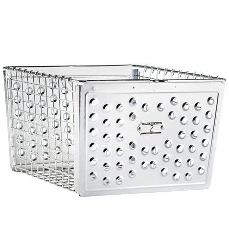 Large Industrial Sheet-Metal Basket | Rejuvenation