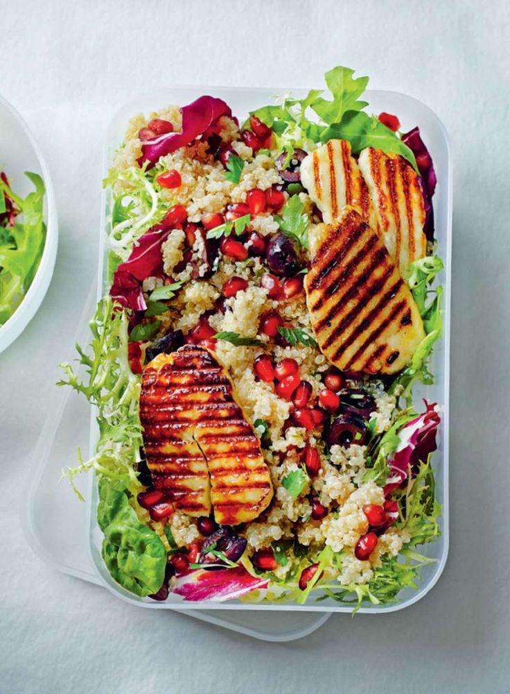 ... Grilled Halloumi on Pinterest | Halloumi Salad, Fried Halloumi and
