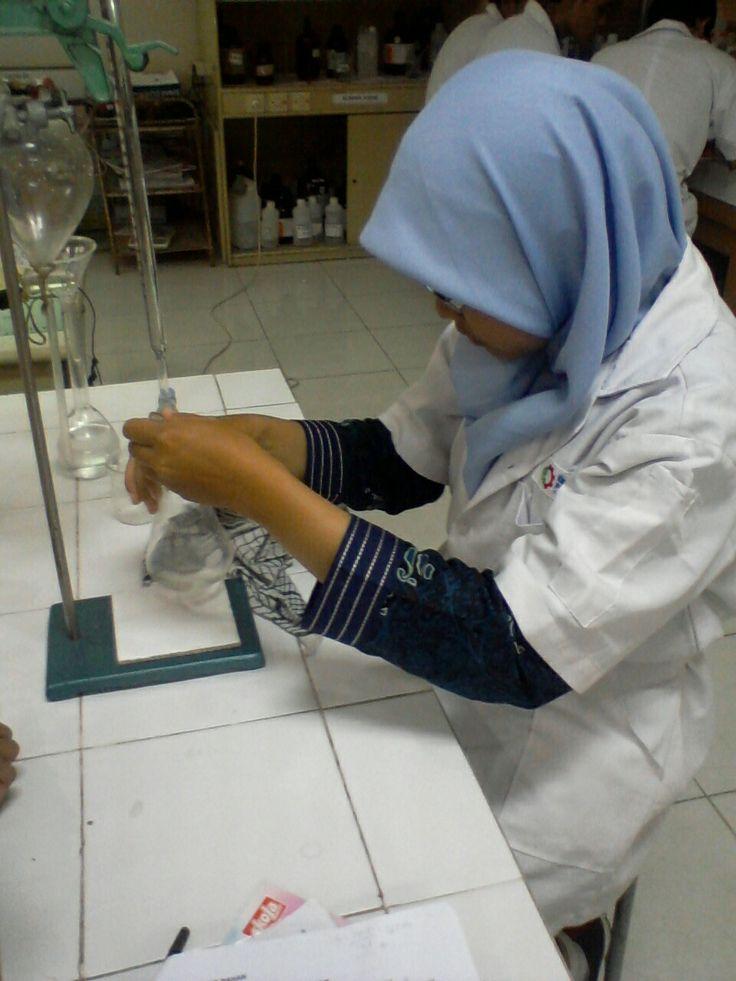 Just a little bit #chemistry