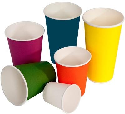 4oz Coloured Takeaway Coffee Cups Take Away Coffee Cup