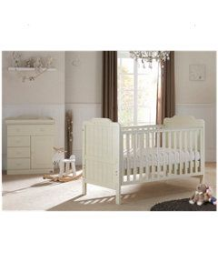 Tutti Bambini Alexia 2-Piece Room Set in Vanilla http://www.parentideal.co.uk/mothercare---nursery-furniture-sets.html