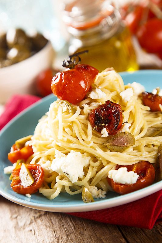 Home is in the kitchen - Домашняя паста с запеченными помидорами и хитрый прием от итальянского шефа