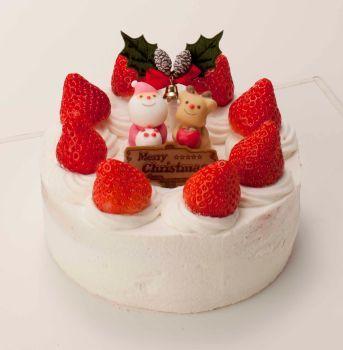"""食物アレルギーでも食べられる""""クリスマスケーキ""""、12月1日から販売開始"""