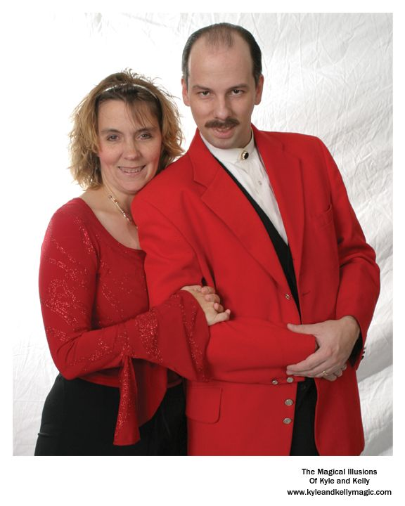 Looking for entertainment for your next event? Consider the Magical Illusions of Kyle and Kelly. Award winning family entertainers. For more information please check us out at www.kyleandkellymagic.com or follow us on our Facebook Page https://www.facebook.com/kyleandkellymagic