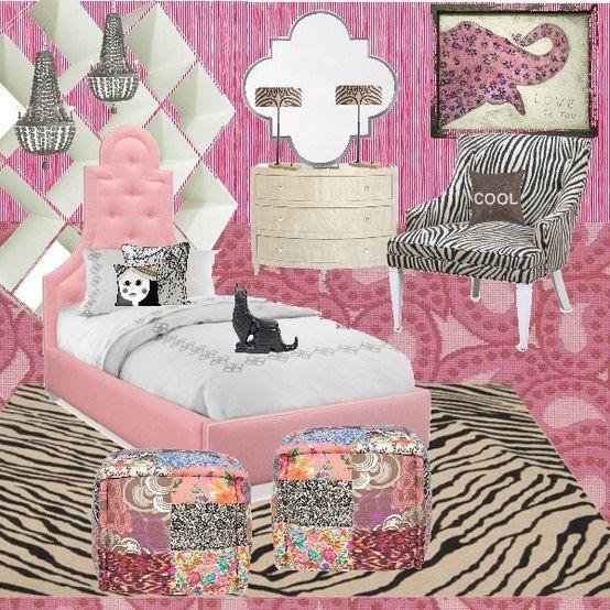 Light Pink Black And White Bedroom Art Studio Bedroom Designs Bedroom Zebra Decorating Ideas Black Bedroom Decor: 1000+ Images About Kiara Room Ideas On Pinterest