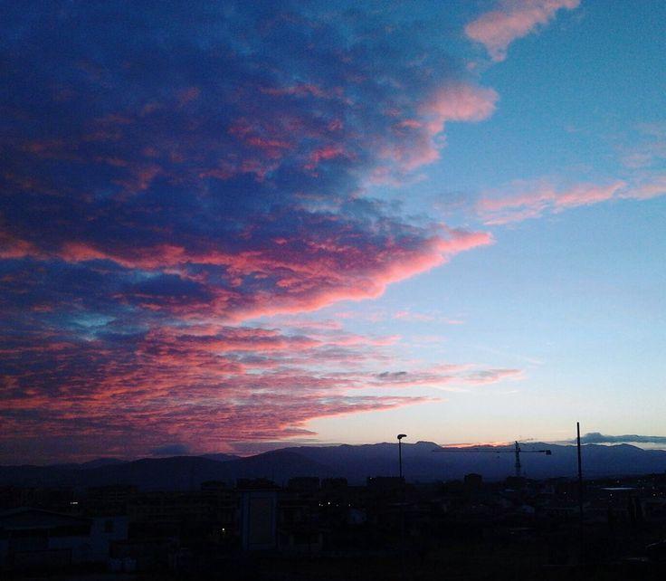 Sunset  www.cs4rt.com  #photo #foto #tramonto #sunset #sunrise #alba #sole #cielo #nuvole #clouds #sun