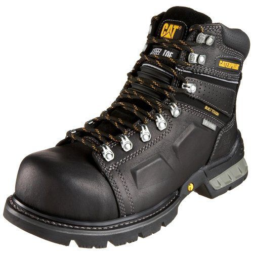 "Caterpillar Men's Endure 6"" Superduty Waterproof Steel-Toe Work Boot - http://authenticboots.com/caterpillar-mens-endure-6-superduty-waterproof-steel-toe-work-boot/"