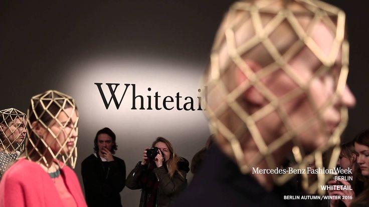 WHITETAIL A/W 2016 presentation during Mercedes-Benz Fashion Week Berlin