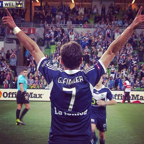 Gui Finkler, a great player for Melbourne Victory