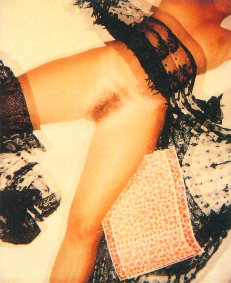 Nudes, Polaroids triple exposure, Cognento, 1987, by Franco Fontana