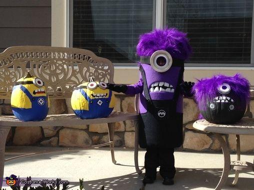 Purple Minion Gone Mad - Halloween Costume Contest at ...