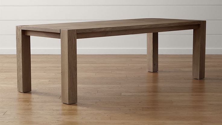 "Big Sur Smoke 90.5"" Dining Table 