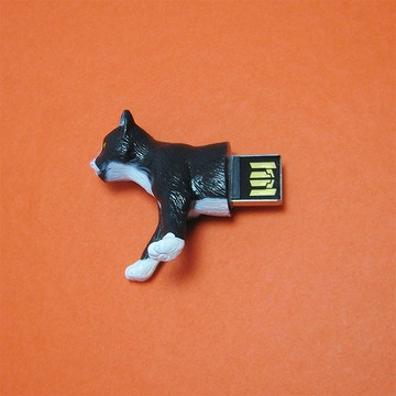 Cat 4GB USB Flash Drive!!!! SO COOL! (other animals available as well!!)