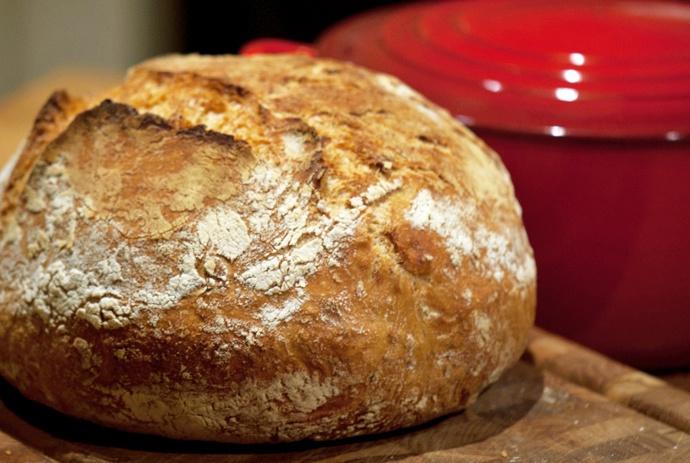 Hjemmebagt grydebrød – verdens bedste brød