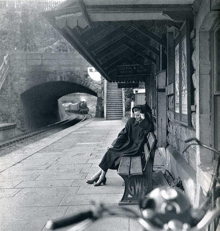 A stunning vintage photo