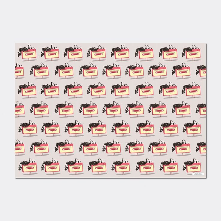 Tip Tape wrapping paper, designed by Marilisa D'Angiò #christmas #gift #wrap