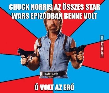 Tudtad-e? Chuck Norris és a Star Wars