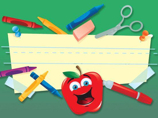 Kindergarten Calendar Powerpoint : Cute school powerpoint template stuff for