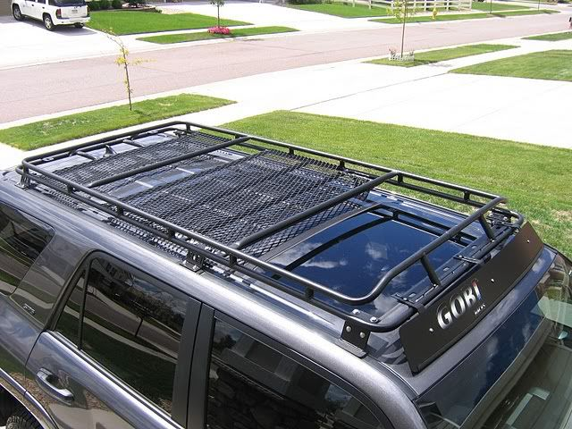 Gobi rack with sunroof cut out