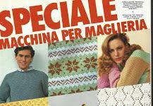 tantissime riviste in italiano per maglieria a macchina