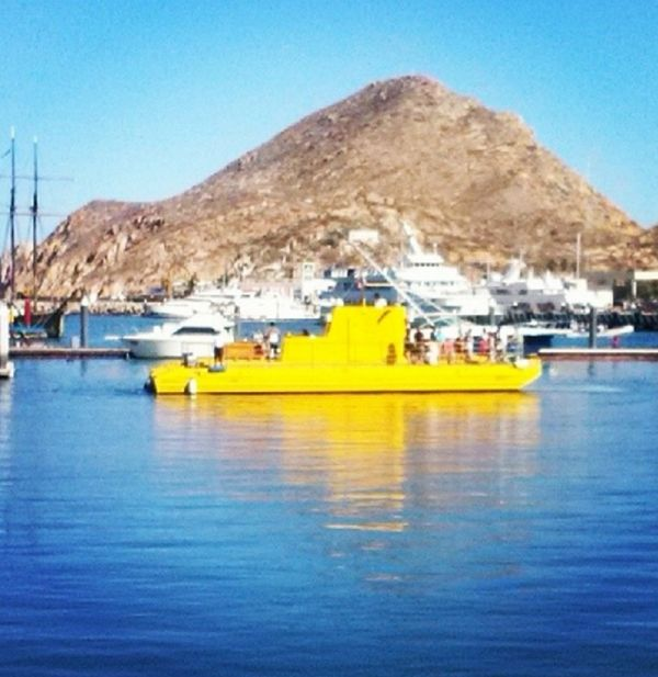 For a Few Hours, at Least    Explore the waters without getting wet. Take a submarine tour of Cabo's underwater sites. Part of the bright yellow, 60-foot vessel stays above water, which means you ca