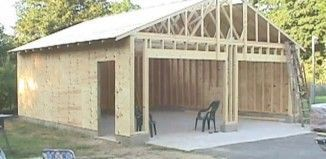 77 best pole barn homes images on pinterest pole barns for How to build a pole shed step by step