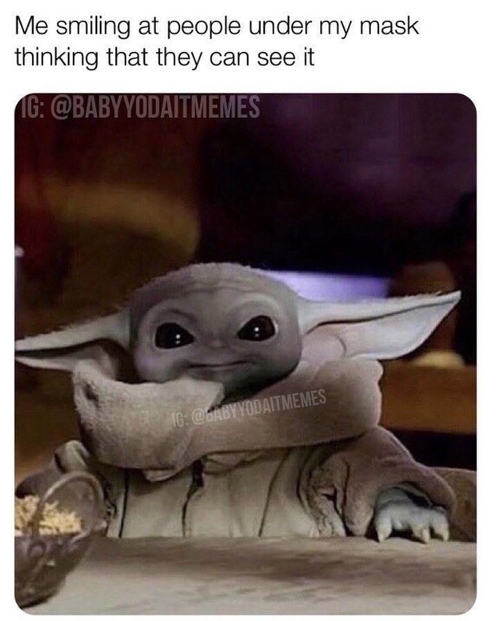 3 569 Likes 28 Comments Baby Yoda Babyyodaitmemes On Instagram Follow Babyyodaitmemes Yoda Funny Yoda Meme Yoda