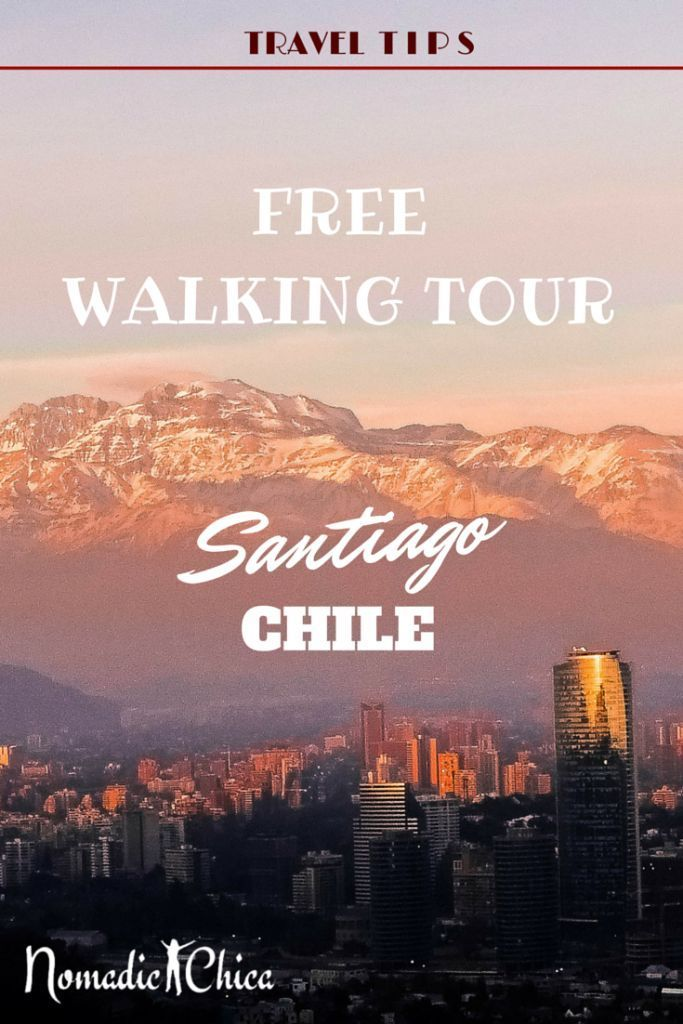 When you travel to Santiago, Chile, for the first time, use these tips to take a self-guided walking tour of the city. #DreamHolidayContest