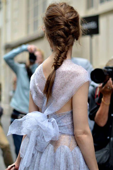 Anna Della Russo - Paris Street Fashion - Summer Street Fashion in Paris - Elle