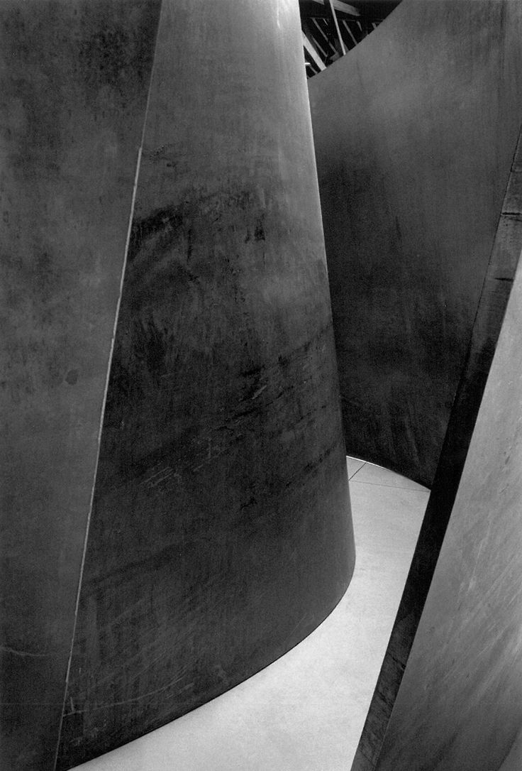 Richard Serra - Double Torqued Ellipse II, 1998 - loved seeing this with H