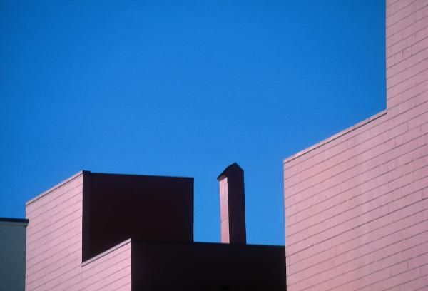 Franco Fontana - Urban Landscape, Los Angeles, 1990