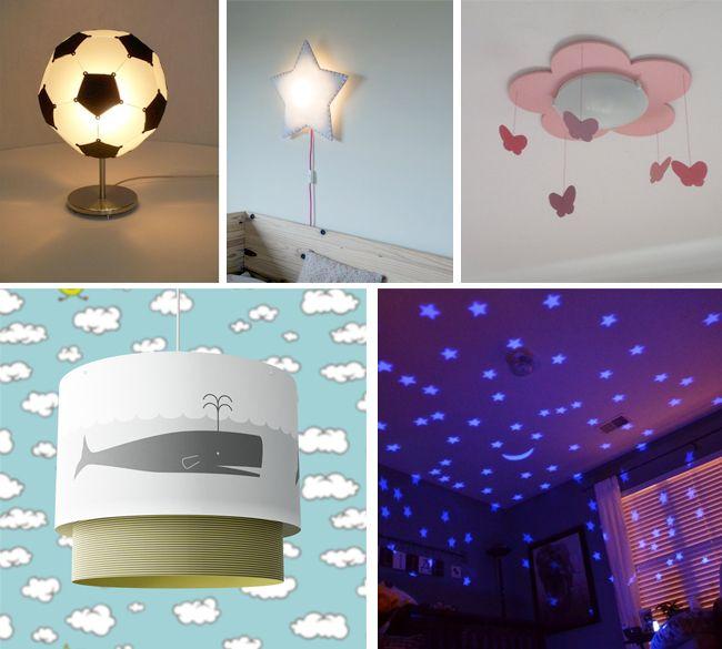 Las lámparas, sin duda alguna, son elementos de suma importancia en las habitaciones de los niños. Además de iluminar de manera divertida, haces que se sientan acompañados y sin temor alguno y puedes observarlos oportunamente en las noches sin interrumpir sus sueños. #vivienda #estrenarvivienda #deco #decoracion