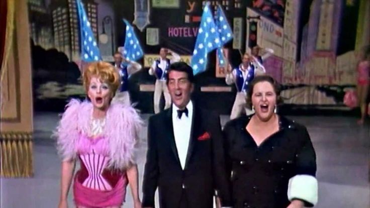 Dean Martin, Lucille Ball, Kate Smith  -  Center Stage ~ THIS IS HILARIOUS---ENJOY!
