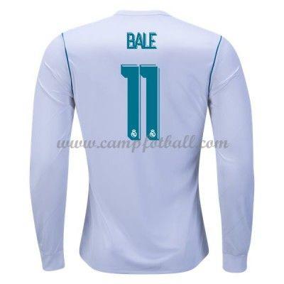 Real Madrid Fotballdrakter 2017-18 Gareth Bale 11 Hjemmedrakt Langermet