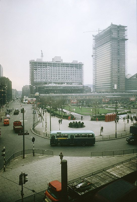 Piccadilly, 1964 | by MMU Visual Resources  The View from my office window in 1964.  Rather less cluttered than today.