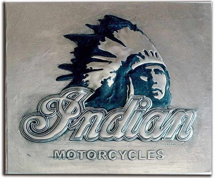ArteyMetal: Placa custom indian 2