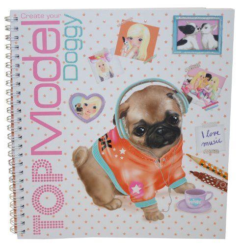 Depesche Create Your Top Model Doggy Design Sticker Book