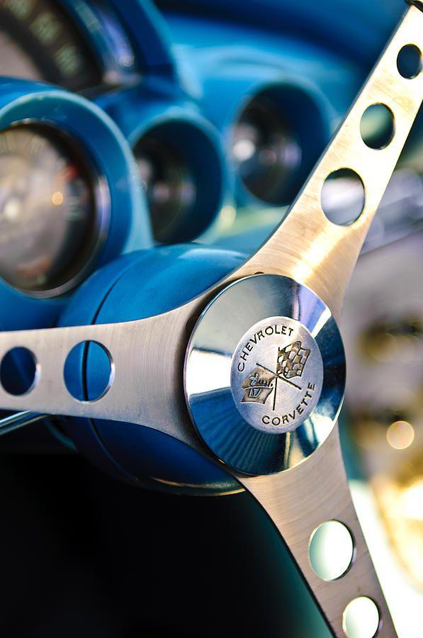 1958 Chevrolet Corvette Steering Wheel