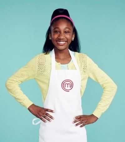 Jasmine Stewart of Milton, Georgia, winner of  MasterChef Junior