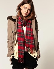 superfall: Brown Jackets, Casual Style, Cold Clothing, Fall Style, Check Scarfs, Plaid Scarfs, Fall Outfits, Fall Looks, Fashionmi Style
