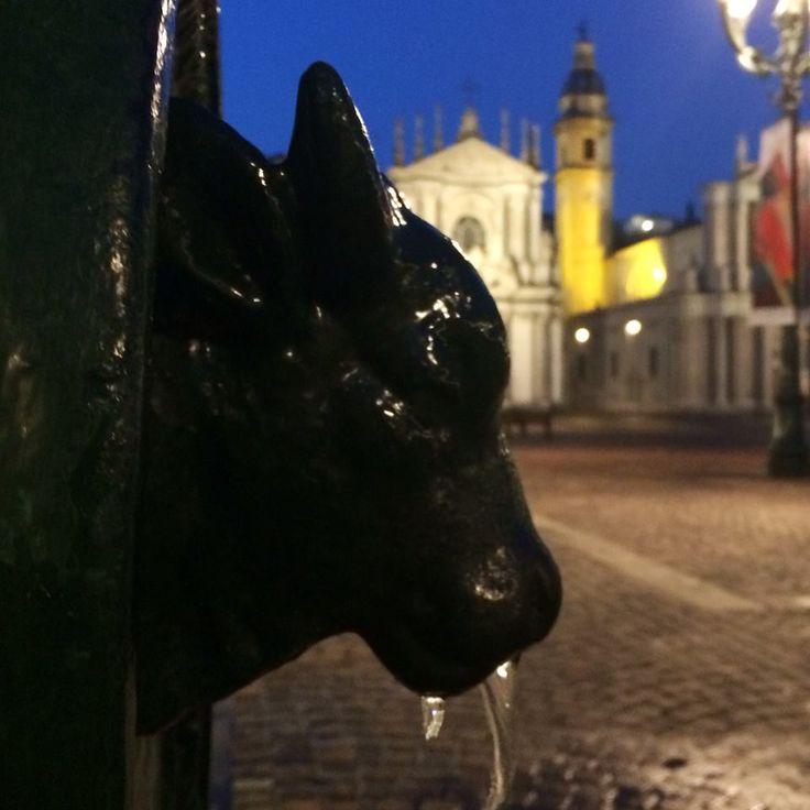 #Toret, #Torello - tipica fontanella pubblica torinese - Piazza San Carlo, #Torino