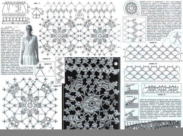 Zartheit in häkeln Gabriela: 80 Gratis-Muster: Blusen exzellente Auswahl an Modellen