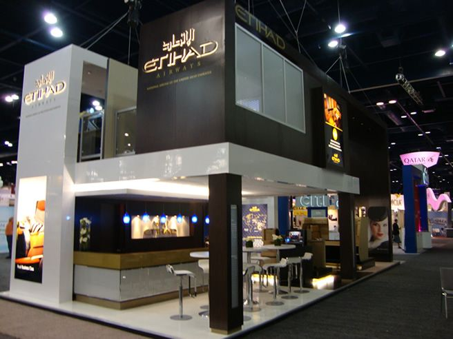 Double Deck This Is What I Do Exhibition Stand