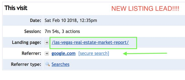 New LISTING Lead. They googled about Las Vegas housing market, found my Las Vegas Real Estate Market Report, Clicked the call to action to fill out a home valuation (http://www.listingstoleads.com/ballen?utm_content=buffer8675c&utm_medium=social&utm_source=pinterest.com&utm_campaign=buffer) and that's where they filled out a form. #RankLikeAboss