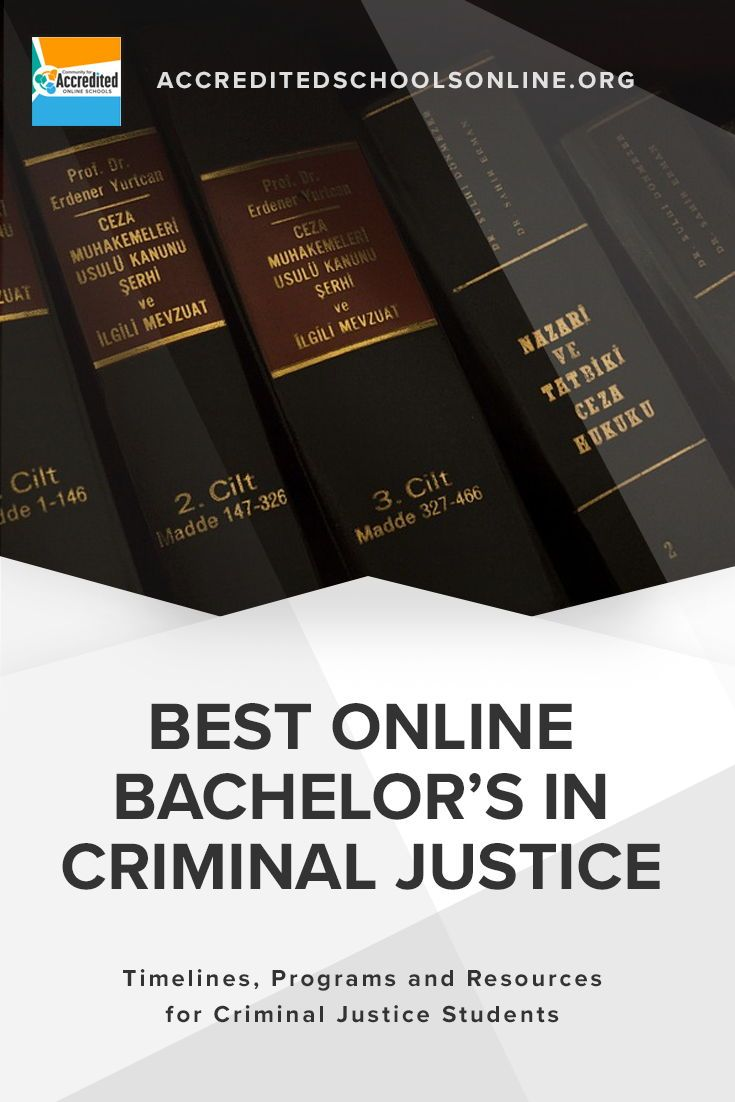 Online Bachelors In Criminal Justice 50 Best Online Colleges Of