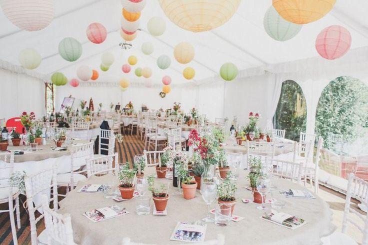 Mooie frisse pastel kleuren. Laat die zomer maar komen! ☀️  #lampion #wedding…